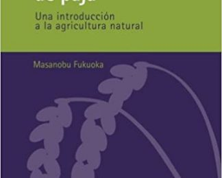 Libro a la venta de permacultura. Agricultor japonés Masanobu Fukuoka invento del nendo dango (bolas de arcilla). Guía de permacultura