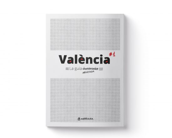 Cuaderno de viaje valencia abocetada. Ilustración comic experimental