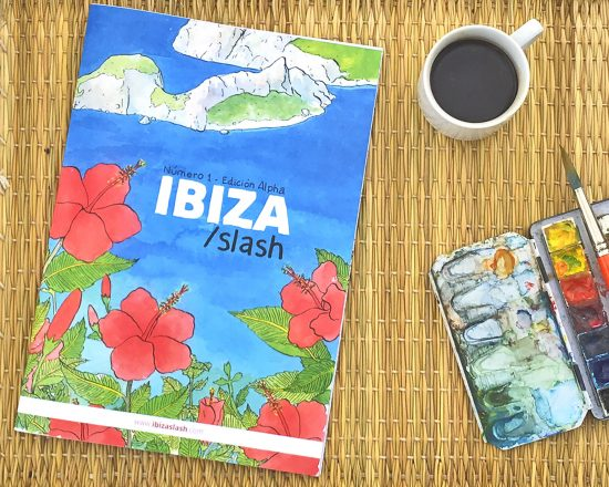 Ibiza Slash magazine. Art & Illustration